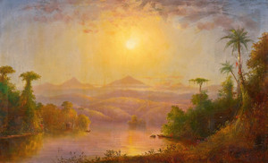 Art Prints of The Tropics of South America by Norton Bush