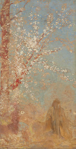 Art Prints of Figure Under a Blossoming Tree by Odilon Redon