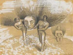Art Prints of Hemisphere by Odilon Redon