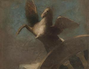 Art Prints of Pegasus by Odilon Redon