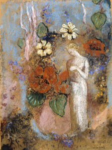 Art Prints of Pandora II by Odilon Redon