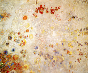 Art Prints of Panel by Odilon Redon