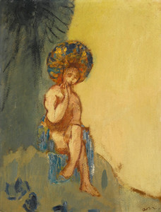 Art Prints of Small Bather by Odilon Redon