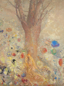 Art Prints of The Buddha Sitting by Odilon Redon