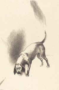 Art Prints of The Dog by Odilon Redon