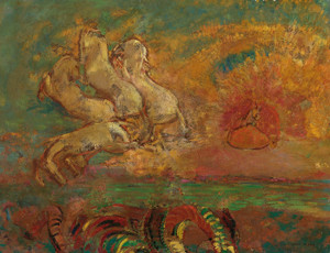 Art Prints of The Chariot of Apollo and the Dragon by Odilon Redon