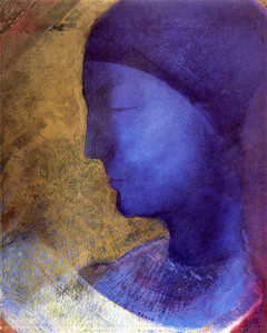 Art Prints of The Golden Cell, 1892 by Odilon Redon
