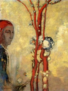 Art Prints of The Red Tree by Odilon Redon