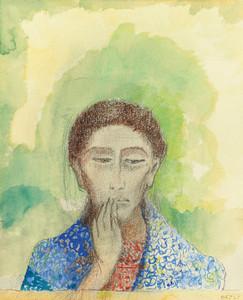 Art Prints of The Silence by Odilon Redon