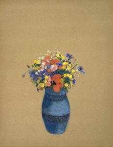 Print Odilon Redon Bouquet Of Anemones 25 x 30cm