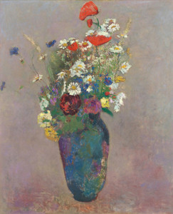 Art Prints of Vision Vase of Flowers by Odilon Redon