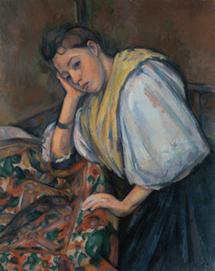 Art Prints of Young Italian Woman by Paul Cezanne