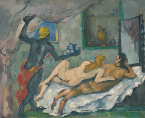 Art Prints of Afternoon in Naples by Paul Cezanne