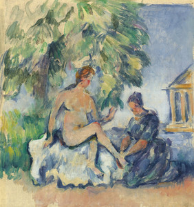 Art Prints of Bethsabee or Bathsheba by Paul Cezanne