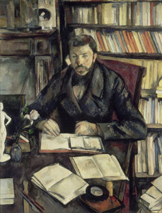 Art Prints of The Journalist Gustave Geoffroy by Paul Cezanne