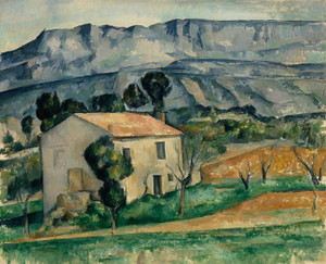 Art Prints of House in Provence by Paul Cezanne