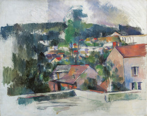 Art Prints of Landscape by Paul Cezanne