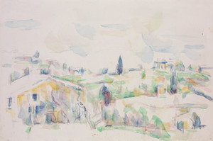 Art Prints of Landscape in Provence by Paul Cezanne
