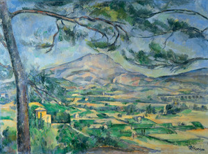 Art Prints of Mont Saint Victoire by Paul Cezanne
