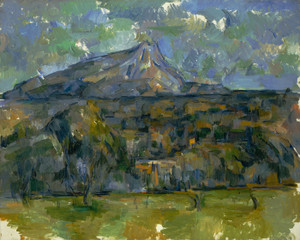 Art Prints of Mont Saint Victorie by Paul Cezanne