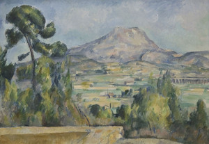 Art Prints of Montagne Saint Victoire 2 by Paul Cezanne