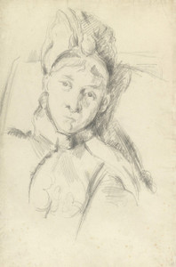 Art Prints of Portrait of Hortense Cezanne by Paul Cezanne