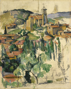 Art Prints of The Village of Gardanne by Paul Cezanne