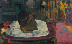 Art Prints of Arii Matamoe or The Royal End by Paul Gauguin