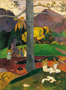 Art Prints of Mata Mua (In Olden Times) by Paul Gauguin