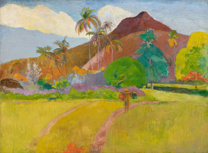 Art Prints of Tahitian Landscape by Paul Gauguin