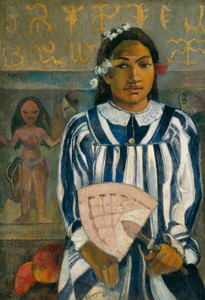 Art Prints of The Ancestors of Tehamana by Paul Gauguin