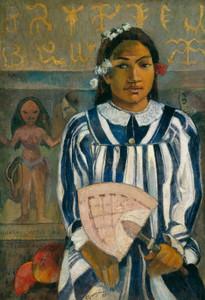 Art Prints of The Ancestors of Tehamana by Paul Gauguin