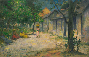 Art Prints of Village in Martinique by Paul Gauguin