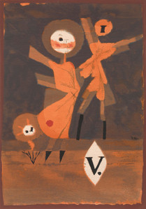 Art Prints of Flower Family V by Paul Klee