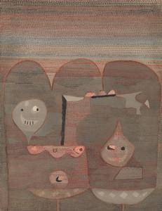 Art Prints of Barbarian Sacrifice by Paul Klee