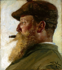 Art Prints of Christian Krohg by Peder Severin Kroyer