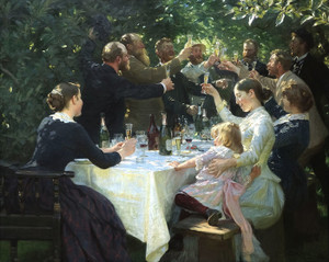 Art Prints of Hipp Hipp Hurra by Peder Severin Kroyer