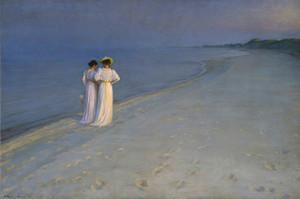 Art Prints of Summer Evening by Peder Severin Kroyer