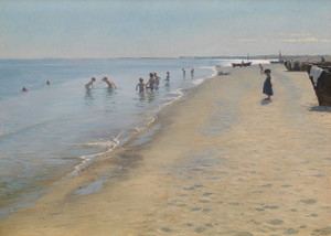 Art Prints of Summer Day by Peder Severin Kroyer