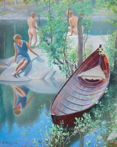 Art Prints of Summer Idyll by Pekka Halonen