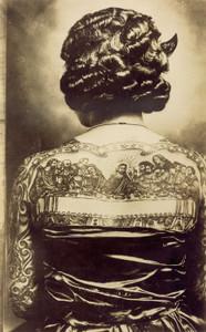 Art Prints of Artoria Gibbons, Last Supper Tattoo