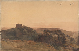 Art Prints of Bolton Castle by Peter De Wint