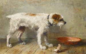 Art Prints of A Meagre Meal by Philip Eustace Stretton