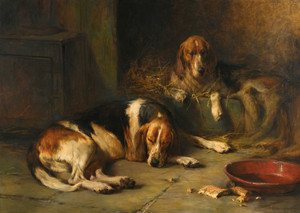 Art Prints of Rest after Toil by Philip Eustace Stretton
