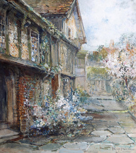 Art Prints of The Old House by Philip Eustace Stretton