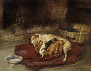 Art Prints of Contentment by Philip Eustace Stretton