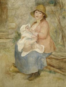 Art Prints of Maternity by Pierre-Auguste Renoir