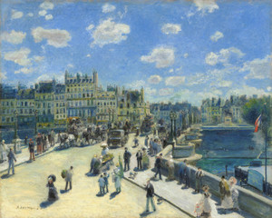 Art Prints of Pont Neuf Paris by Pierre-Auguste Renoir