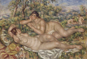 Art Prints of The Bathers by Pierre-Auguste Renoir