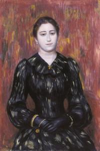 Art Prints of Portrait of Madame Paulin by Pierre-Auguste Renoir